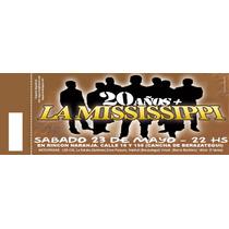 100 Impresión De Entradas/tickets/rifas Todo Tipo D Eventos