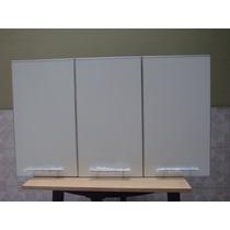 Mueble De Cocina Alacena Melamina 18mm Cantos Aluminio 1,20m