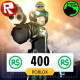 400 Robux Roblox @ Todos Los Días On @ Mercadolider