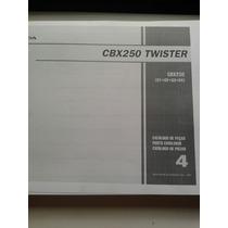 Honda Twister 250 Cbx+ Manual De Taller