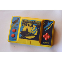 Casio Submariner Batle Juego Electronico Antiguo