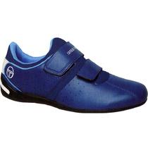 Zapatillas Sergio Tacchini Urbano 2 Velcros Con Detalle Pica