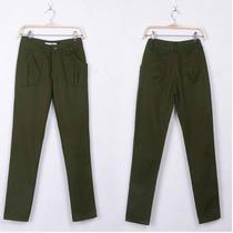 Pantalon Casual Verde Militar.