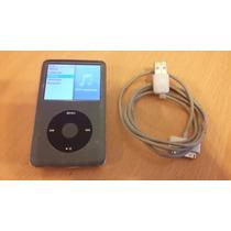 Ipod Classic, 120 Gb, Funcionando, Con Cable, Oportunidad!!
