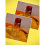 Envase Frasco Vidrio, 35 Cc, Tapa Metal, Perfume, Souvenirs