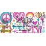Invitaciones Tarjetas Love &peace Ticketek Listasp/imprimir
