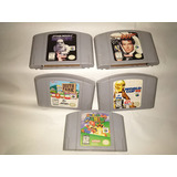 Nintendo 64 Juegos Originales Eeuu Sin Caja