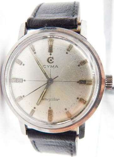 8a4efcb8d38e Urgente Reloj Cyma Navystar Art 111. Diametro 37.3 mm