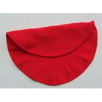 Boina De Hilo De Algodón Color Rojo