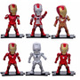 Iron Man Mark Collection Set X 6 Figuras Con Base