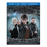 Blu-ray + Dvd Fantastic Beasts The Crimes Of Grindelwald