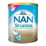 Leche De Fórmula En Polvo Nestlé Nan Sin Lactosa En Lata De 400g