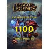 League Of Legends - 1100 Riot Points Rp Las