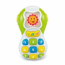 Educando Teléfono Celular Bebés Didáctico Luces Y Sonido