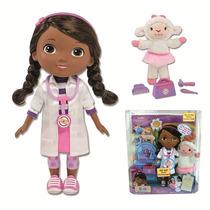 Muñeca Doctora Juguetes Y Lambie Con Sonido Disney Junior