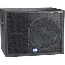 Parlantes Rcf 1400 Watts 18 Pulgadas Impecables
