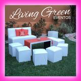 Promocion Alquiler De Living Puff Gazebo Temperley Zona Sur
