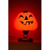 Velador Calabaza Del Terror Para Halloween Una Luz Incluida