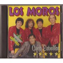 Los Moros Cd Cinco Estrellas Cumbia 1998