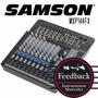 Samson Mxp144fx - Mixer 14 Canales C Efectos Y Usb Grabacion