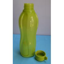 Tupperware - Botella Eco Twist 1lt - Verde Lima Con Pico