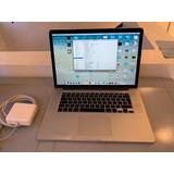 Macbook Pro 15 Retina I7 2.6 16gb Ram 1tb Ssd Leer