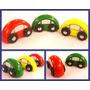 Autitos De Madera X 3 Juguete Diseño Colores Regalo Souvenir