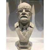 Busto Freud En Resina