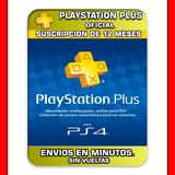 12 Meses Playstation Plus 365 Dias Oferta Unica Oferton