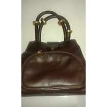 Cartera Bolso Petra Chocolate Impecable