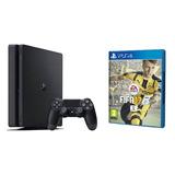 Nueva Ps4 Play Playstation 4 Slim 500gb + Juego + Fac A Y B