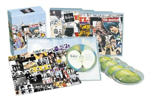 The Beatles Anthology 5 Dvd Import Nuevo Original En Stock