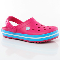 Suecos Sandalias Crocband Candy Pink Crocs Sport 78