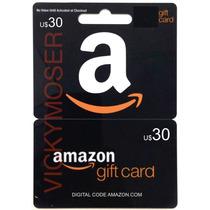 Código Gift Card U$30 De Amazon.com Usa Para Comprar Online