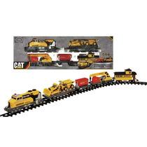 Tren Con Vias Caterpillar Original