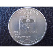 U. S. A. - Nuevo México, Moneda D 25 Centavos (cuarto) 2008