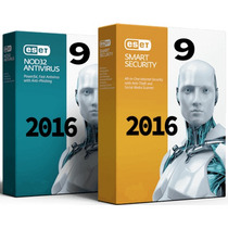 Eset Nod32® 9 Antivirus 2016 I 2 Pc | 2 Año