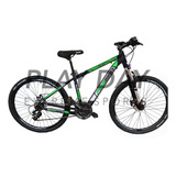 Bicicleta Mountain Firebird Aluminio Rodado 29 Shimano Disco Suspension Regulacion Y Bloqueo Cableado Interno