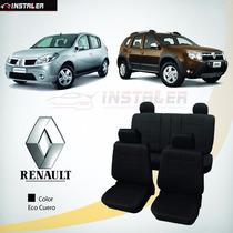 Funda De Asiento Eco Cuero Renault Sandero Duster