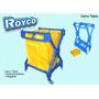 Carro Limpieza Para Lavanderia Tijera Plegabe C/bolsa Royco
