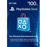 Tarjeta Psn U$100 Digital Usa Ya! Oferta Limitada!!