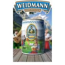 Barril Cerveza Weidmann Hefeweiss Trigo X 5 Litros