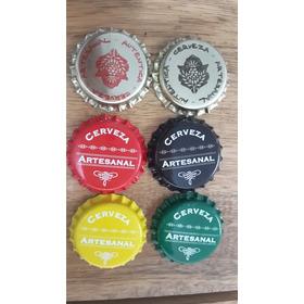50 Tapas Corona Impresas Cerveza Artesanal Bierplatz