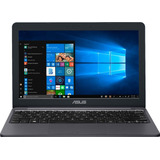 Notebook Asus Intel Ssd 32gb 2gb 11.6' Ultra Slim Windows 10