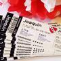 Invitaciones Ticket Avion Entrada Recital Futbol Cumpleaños