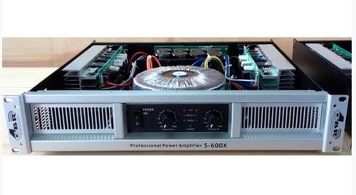 Potencia.gbr  S-600x  1200w. + 1200w. Rms Envio Gratis