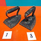 Plancha Antigua De Hierro Vintage Adornos Coleccion