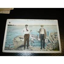 Antigua Postal Old Postcard Port Huron Michigan