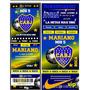 Tarjeta Invitacion Cumple Boca Juniors Tipo Entrada X12