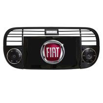 Estereo Dvd Multimedia Fiat 500 Gps 3d Tv Touch Usb Sd Cam.